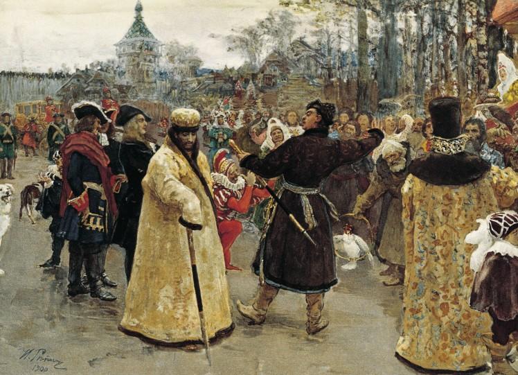 Ivan V og Peter den Store